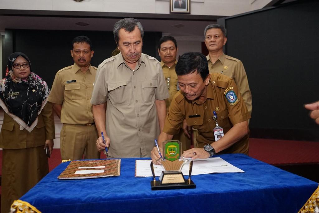 Majukan Pariwisata, Kabupaten Siak lakukan Kerjasama dengan Kota Tanjungpinang