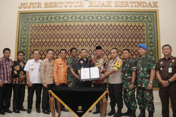 Wako-Wawako Lakukan Silaturahmi ke FKPD