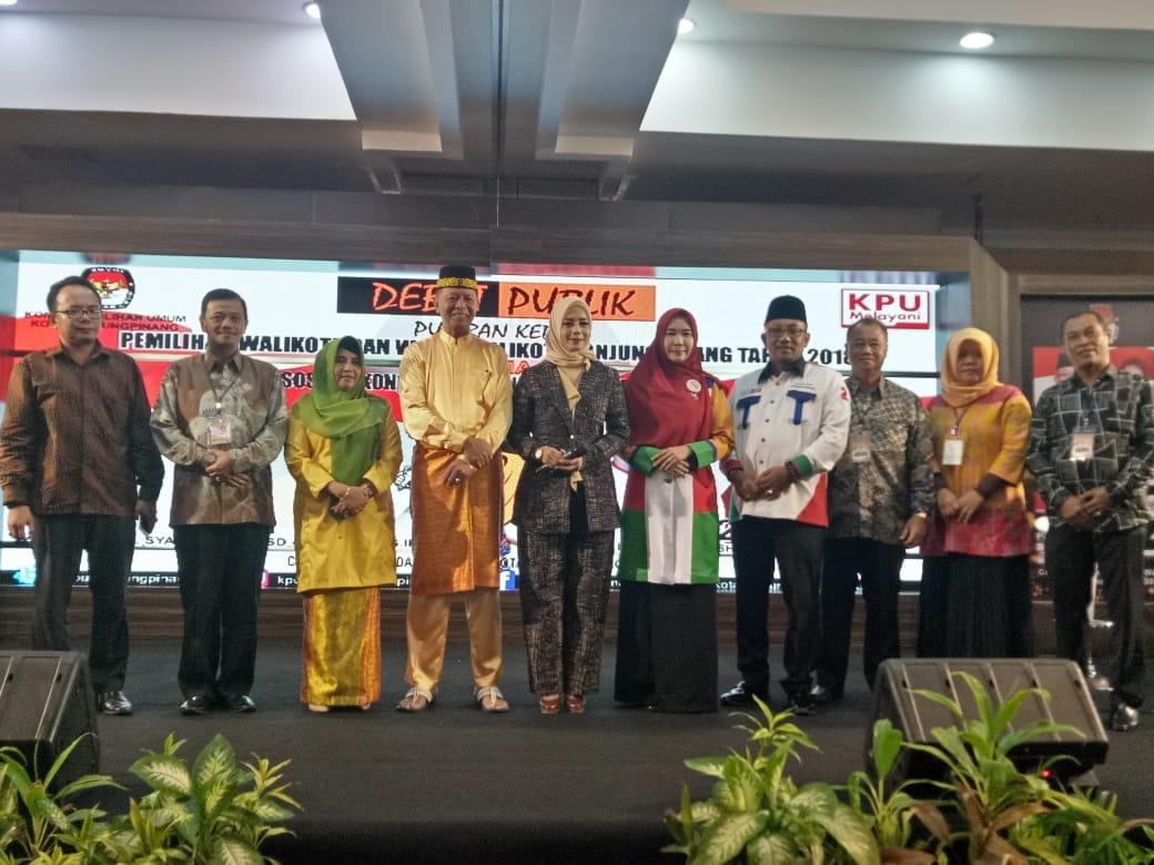 KPU Kota Tanjungpinang Gelar Debat Publik Putaran Kedua