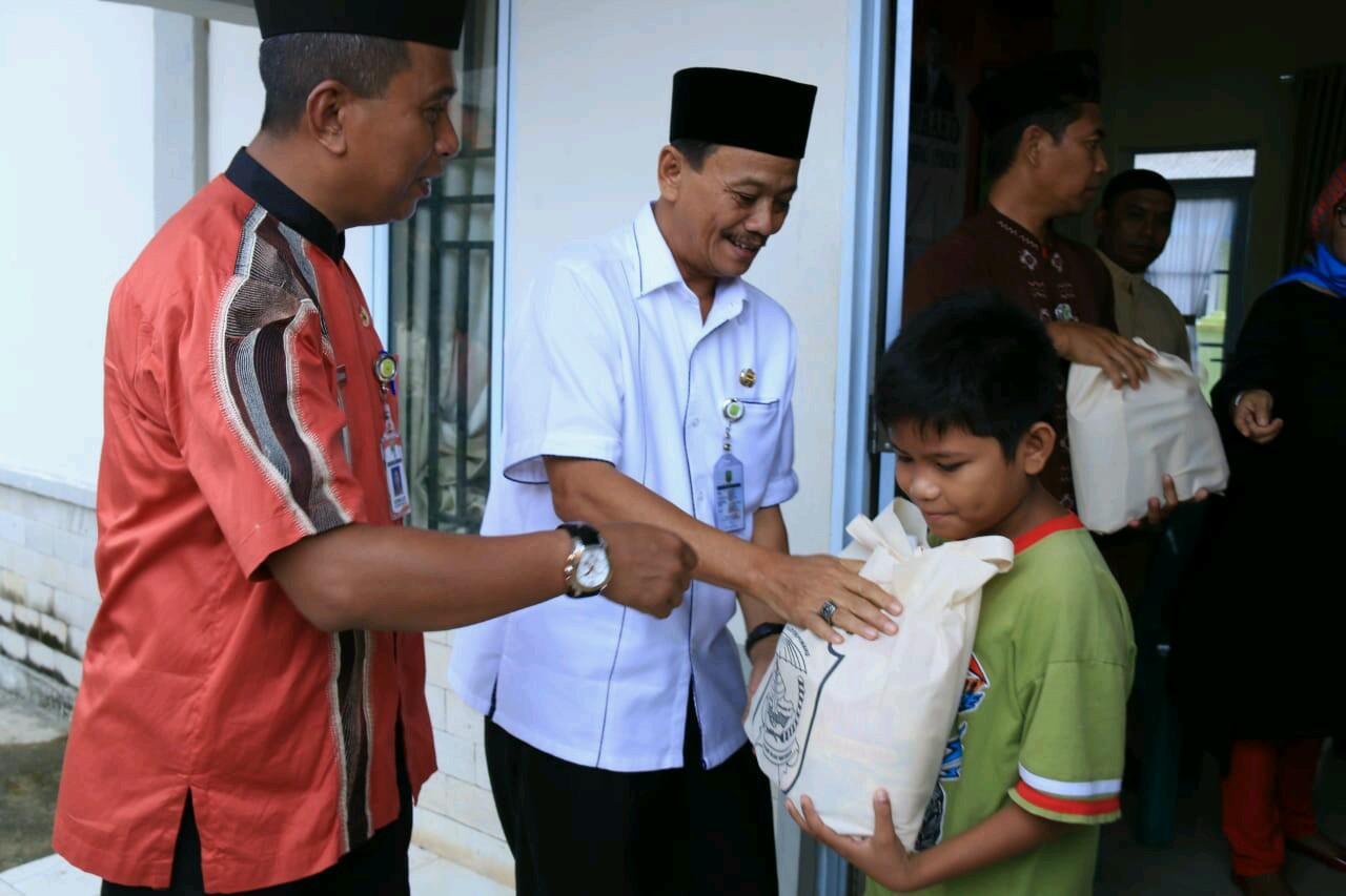 KPM Senang Terima Bantuan Sembako dari Dinas Sosial Kota Tanjungpinang