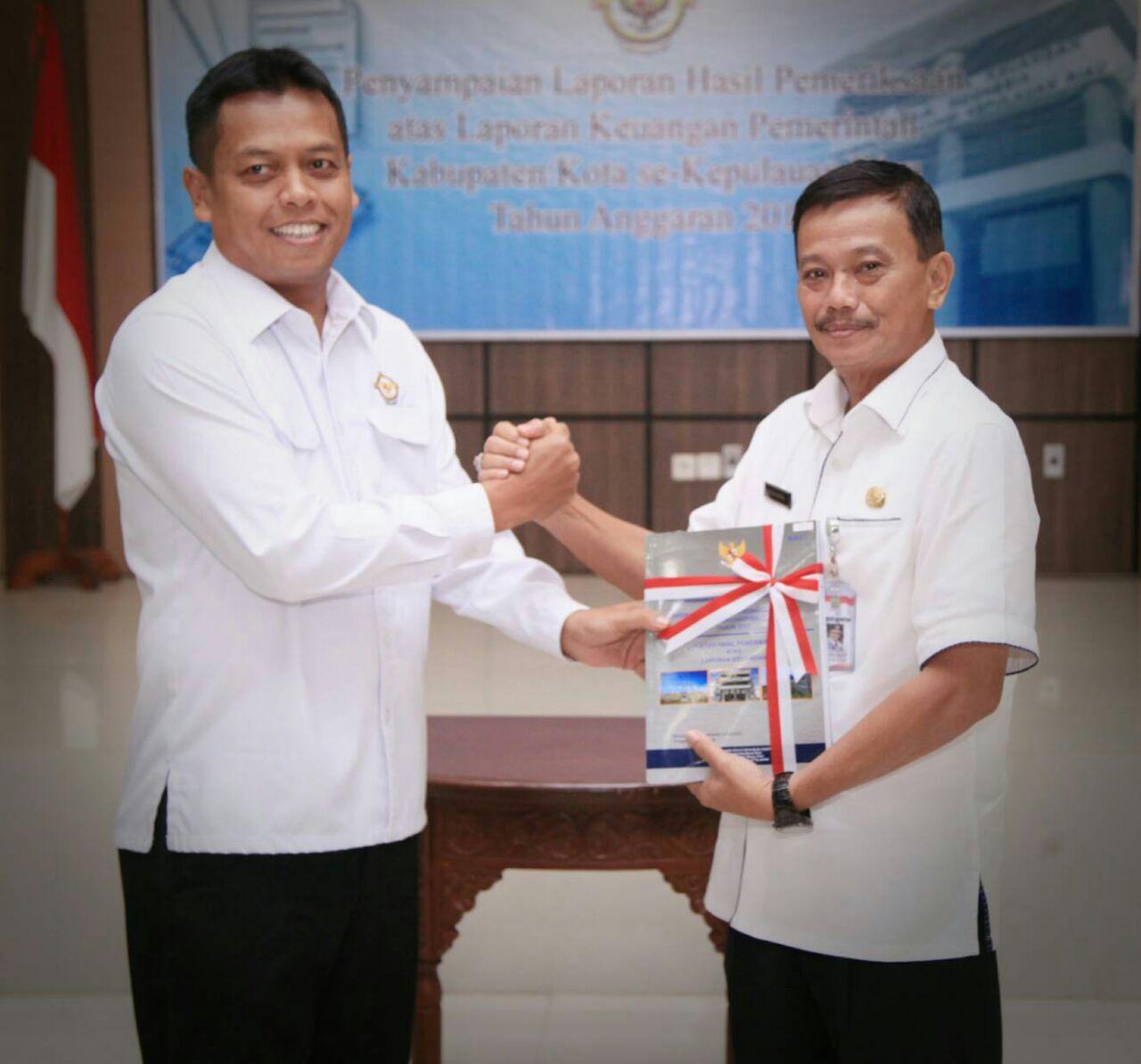 Pemko Tanjungpinang Raih Opini WTP 4 Kali