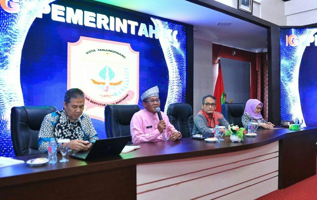 KPK Dorong Optimalisasi Penerimaan Daerah Kota Tanjungpinang