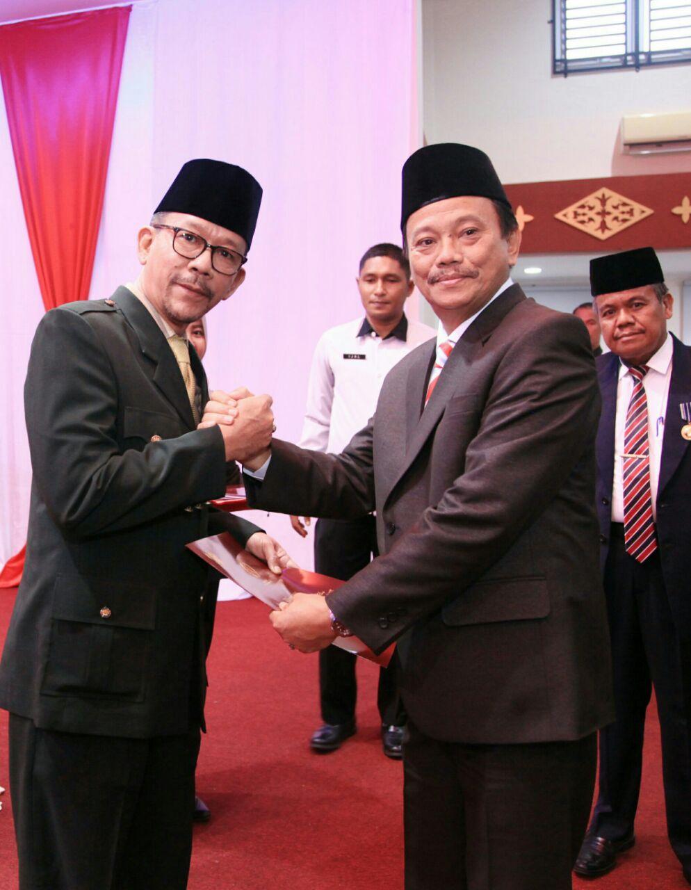 555 ASN Pemko Tanjungpinang Terima Penganugrahan Satyalancana Karya Satya