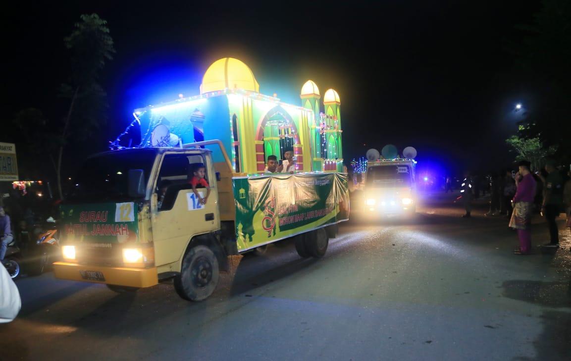 Ini Rute yang Dilalui Pawai Takbir Idul Adha 1440 H di Kota Tanjungpinang