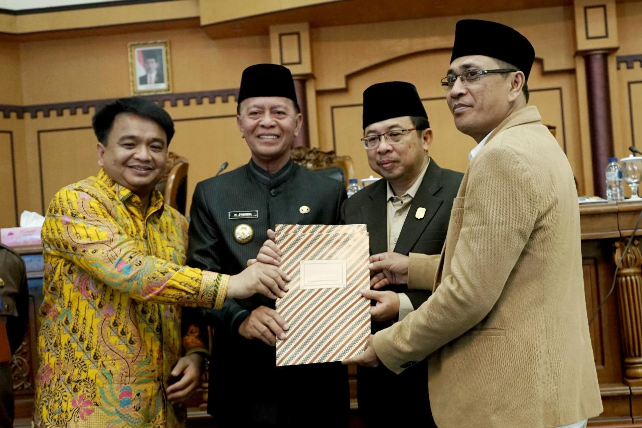 Pemko dan DPRD Tanjungpinang Teken KUA-PPAS APBDP 2019