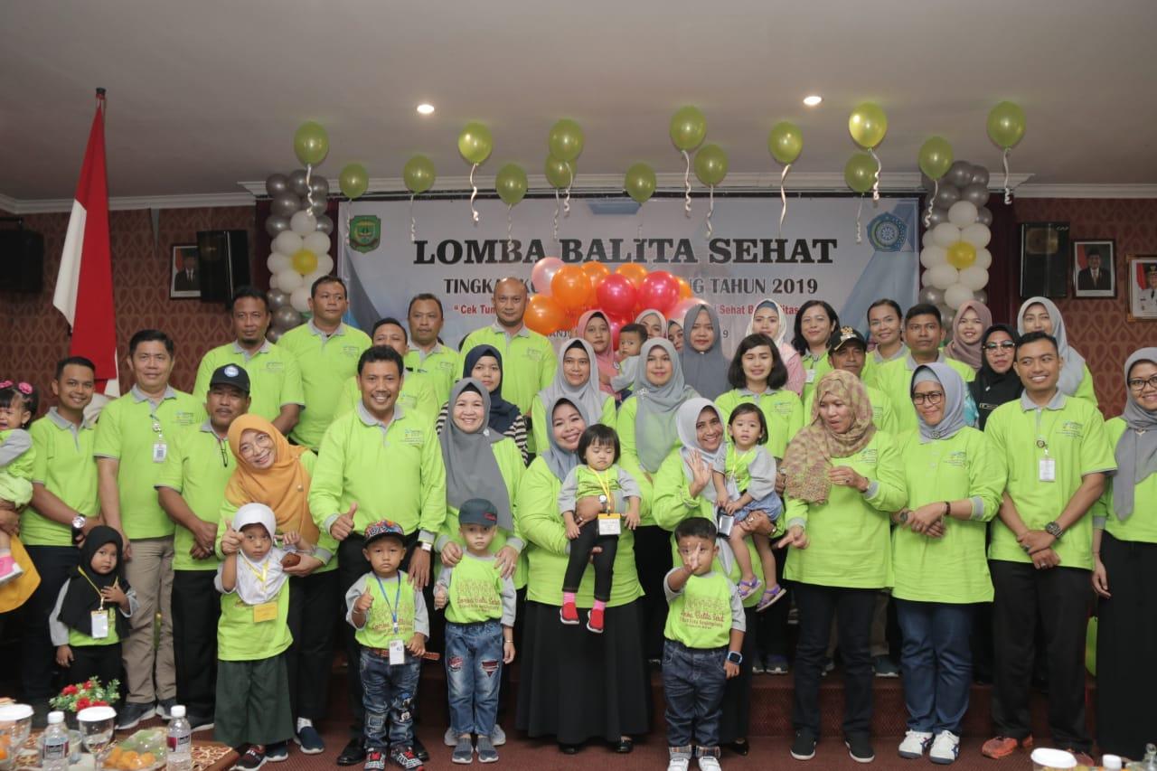100 Balita di Kota Tanjungpinang Ikut Lomba Balita Sehat