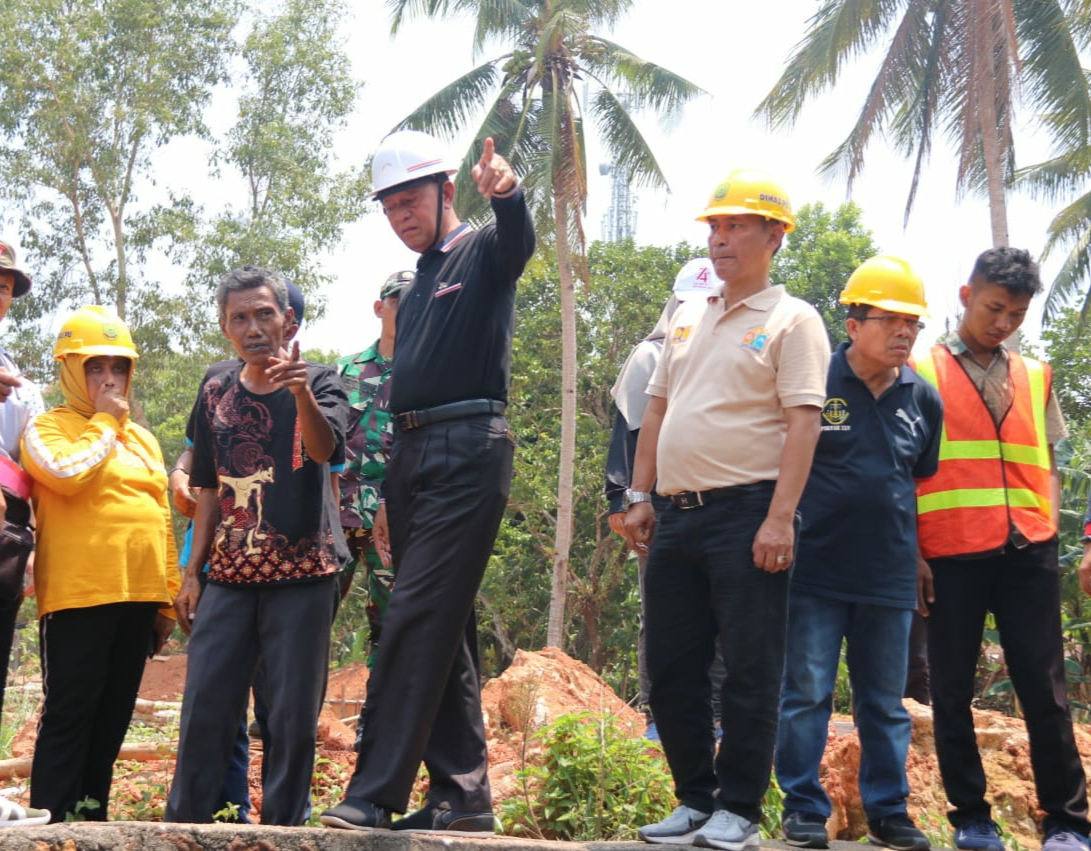 Walikota dan Kejari Tanjungpinang Tinjau Sembilan Proyek Pembangunan Fisik
