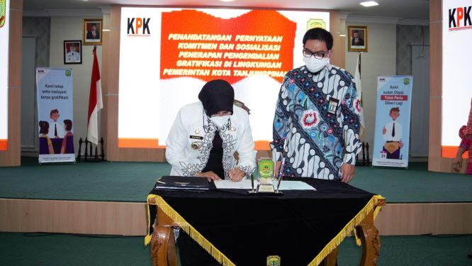 KPK Ingatkan Pegawai Pemko Tanjungpinang Tidak Terima Gratifikasi