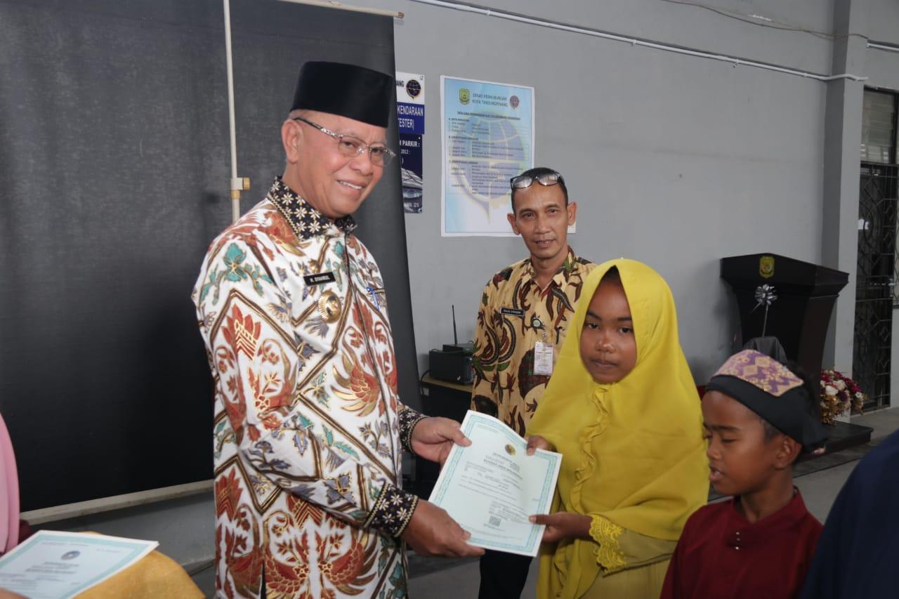 Penerbitan Akta Kelahiran di Tanjungpinang Capai 87 persen