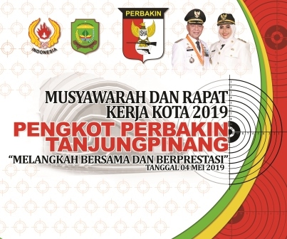 PengKot Perbakin Tanjungpinang, mengelar Musyawarah dan rapat kerja