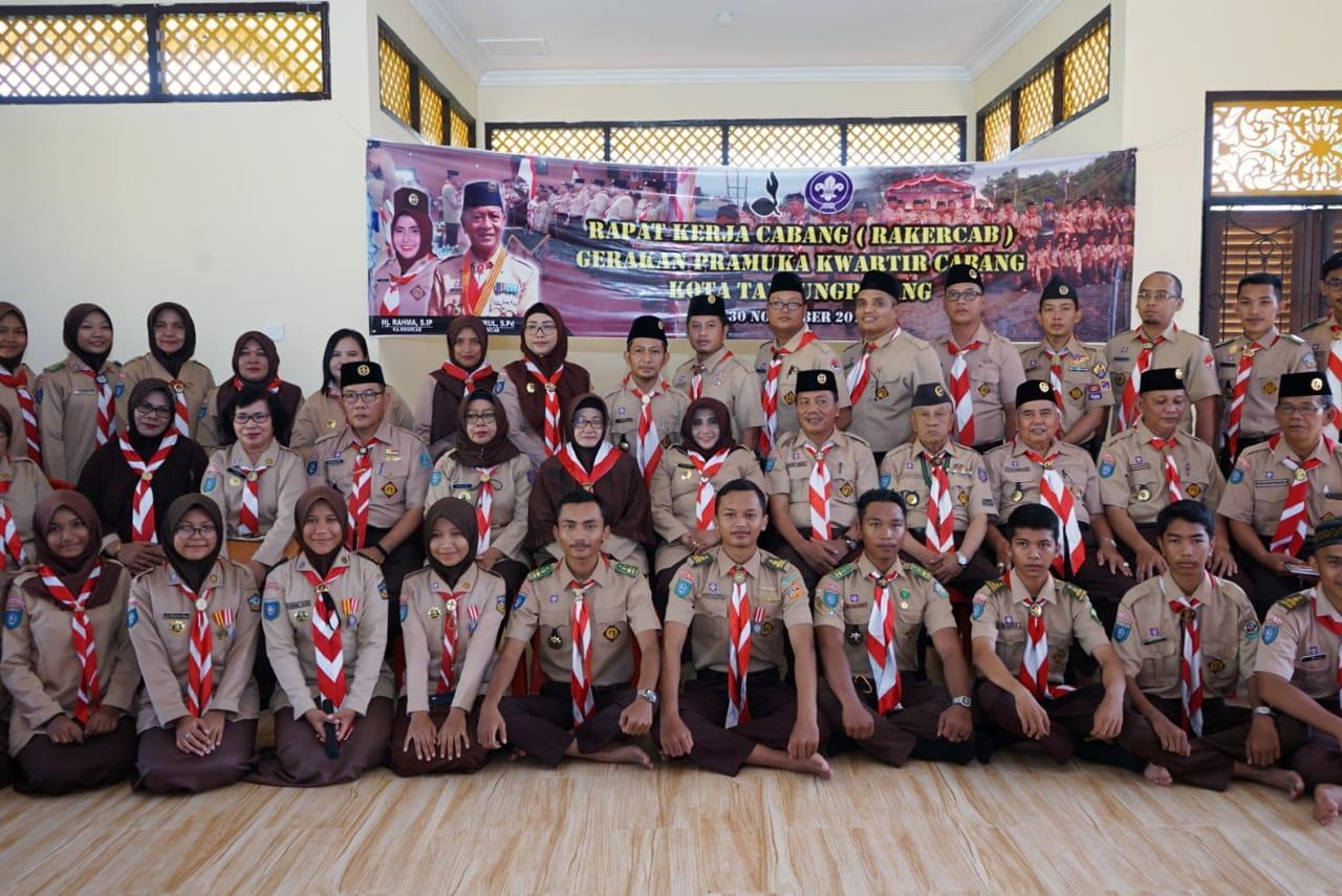 Ka. Kwarcab Buka Rakercab Pramuka Tanjungpinang
