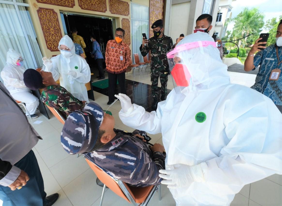 Dinkes Tanjungpinang : Status Darurat Turun Saat Testing dan Tracing Semakin Masif