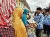 Masyarakat Antusias Sambut Pasar Murah Disperdagin Kota Tanjungpinang
