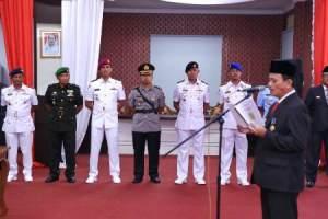 PJ Walikota Membacakan Amanat